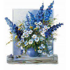 Принт А3  Полевые цветы