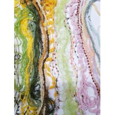 Набор пряжи для вышивки травки 2