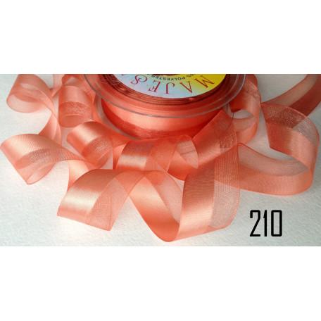 Лента органза-атлас 25мм 210