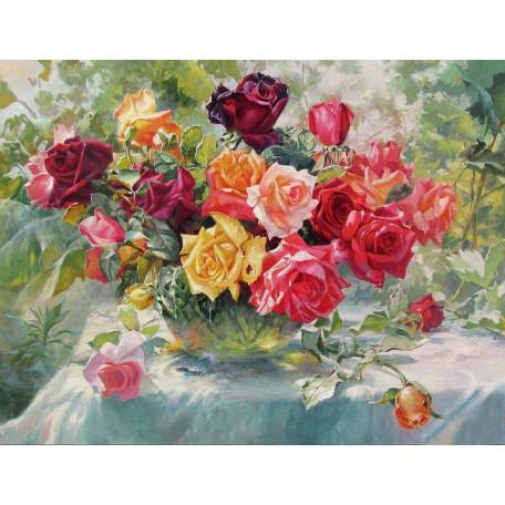 Принт А3  Розы