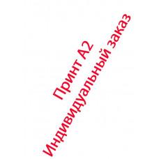 Принт А2 индивидуальный заказ